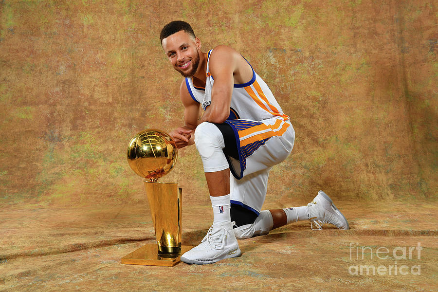 Stephen Curry Photograph by Jesse D. Garrabrant