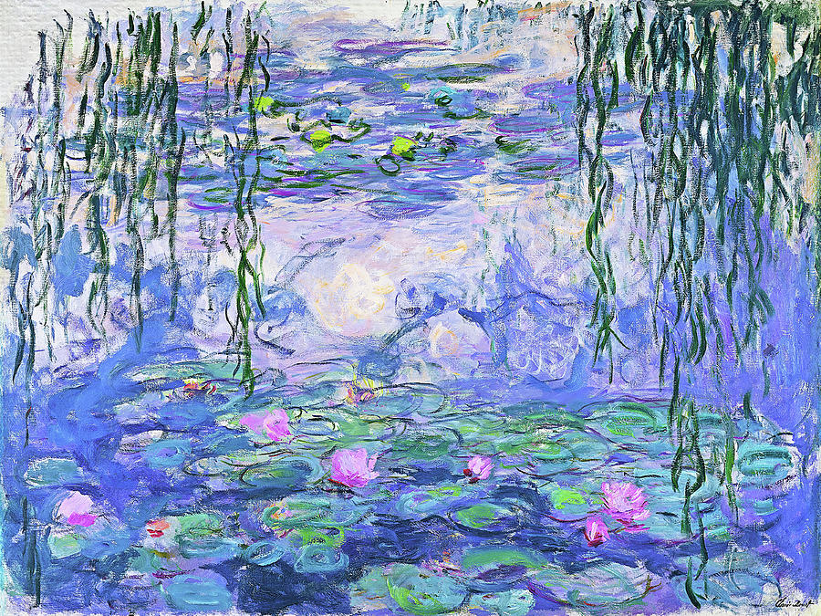 Claude Monet Painting - Water Lilies  by Claude Monet