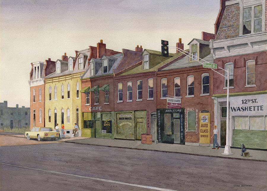 12th and Russell Painting by Stan Masters