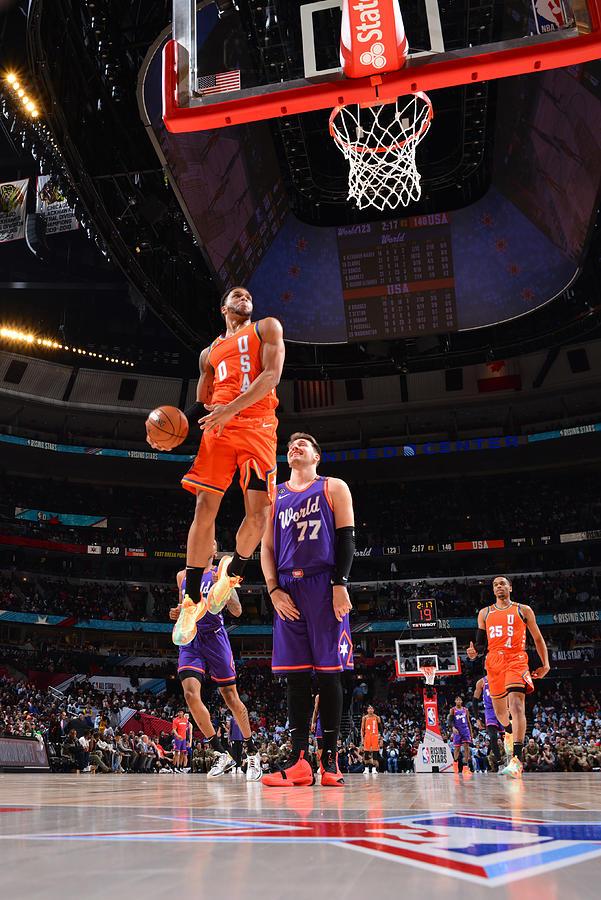 2020 NBA All-Star - Rising Stars Game Photograph by Jesse D. Garrabrant