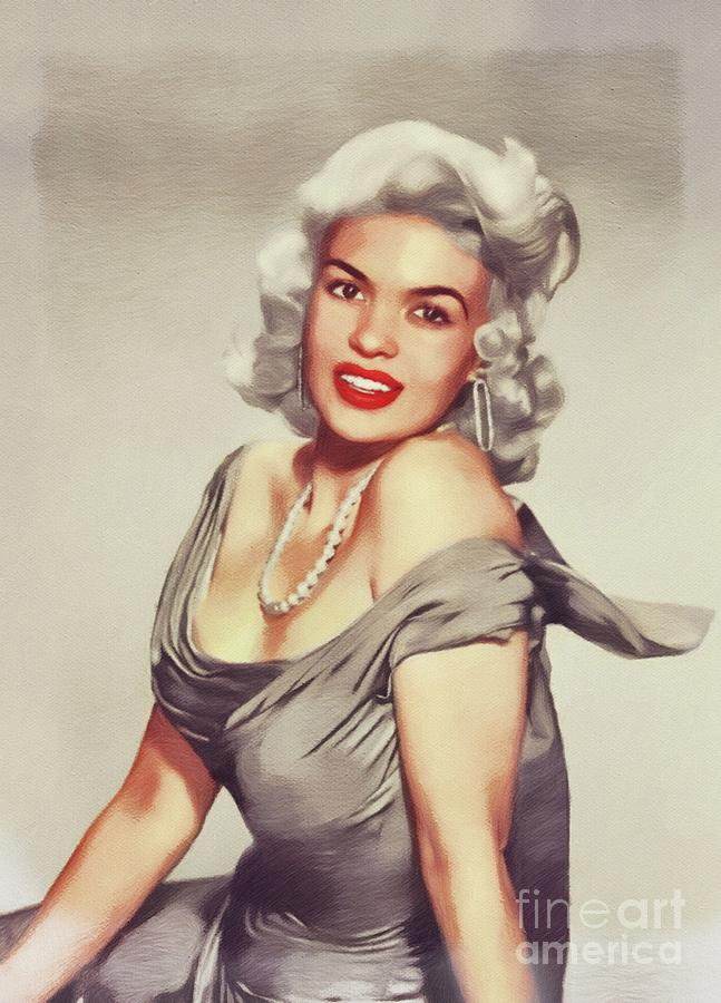 Jayne Mansfield, Movie Star and Pinup by John Springfield