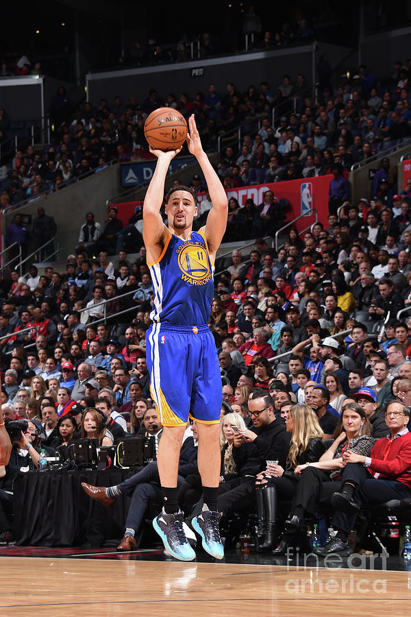 Klay Thompson Photograph by Andrew D. Bernstein