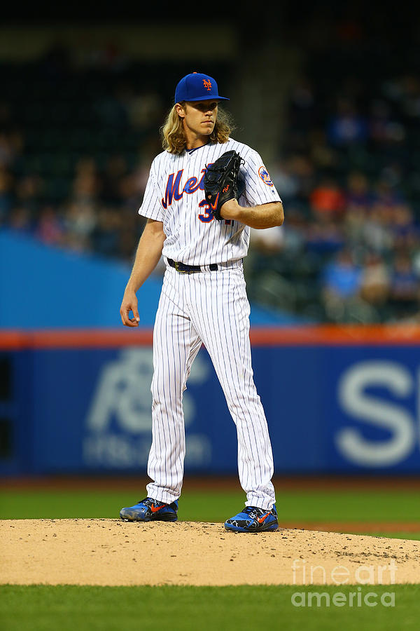 Noah Syndergaard Photograph by Mike Stobe