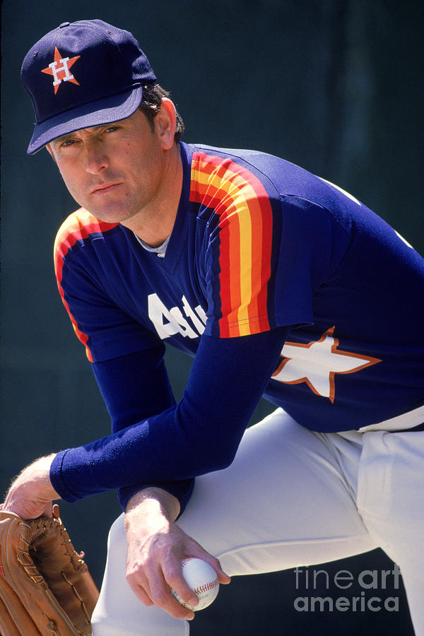 Nolan Ryan Photograph by Rich Pilling