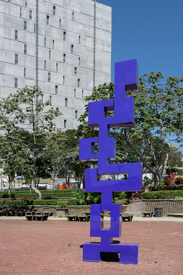 San Jose City Center Digital Art