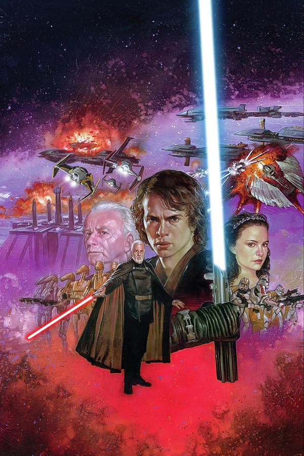Star Wars Episode Iii Revenge Of The Sith 2005 Digital Art By Geek N Rock