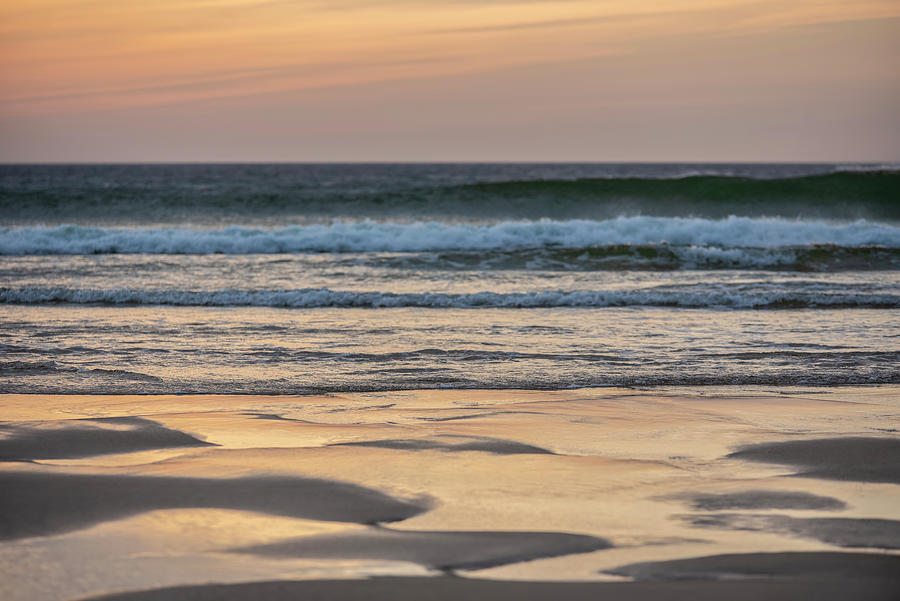 Landscape Photograph - Absolutely stunning landscape images of Holywell Bay beach in Co by Matthew Gibson