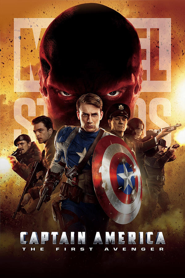 Captain America The First Avenger 2011 Digital Art By Geek N Rock
