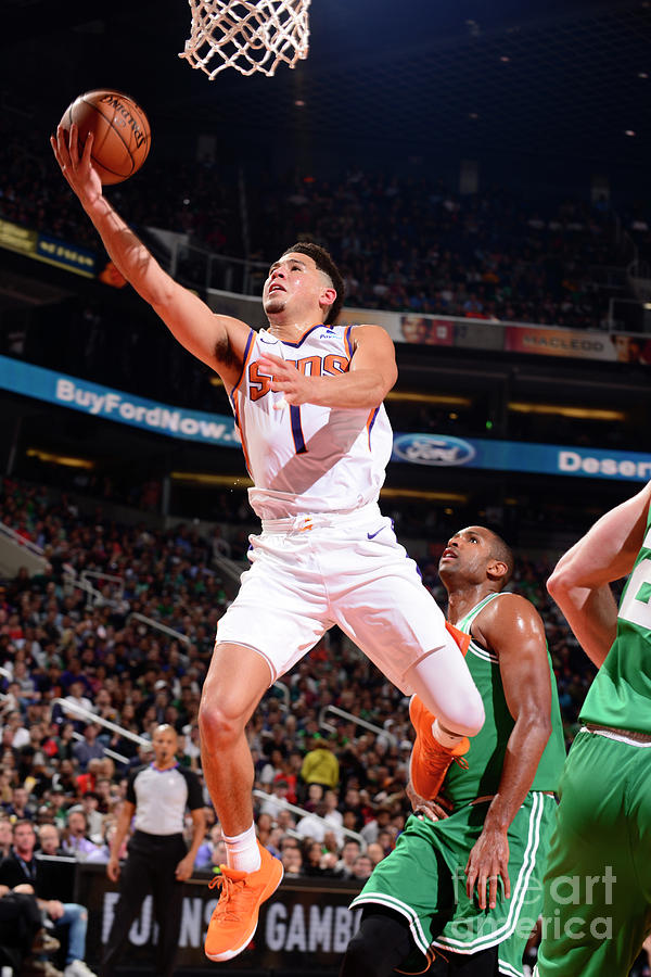 Devin Booker Photograph by Barry Gossage