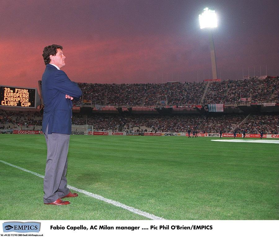 ITALIAN Soccer Photograph by Phil OBrien - EMPICS