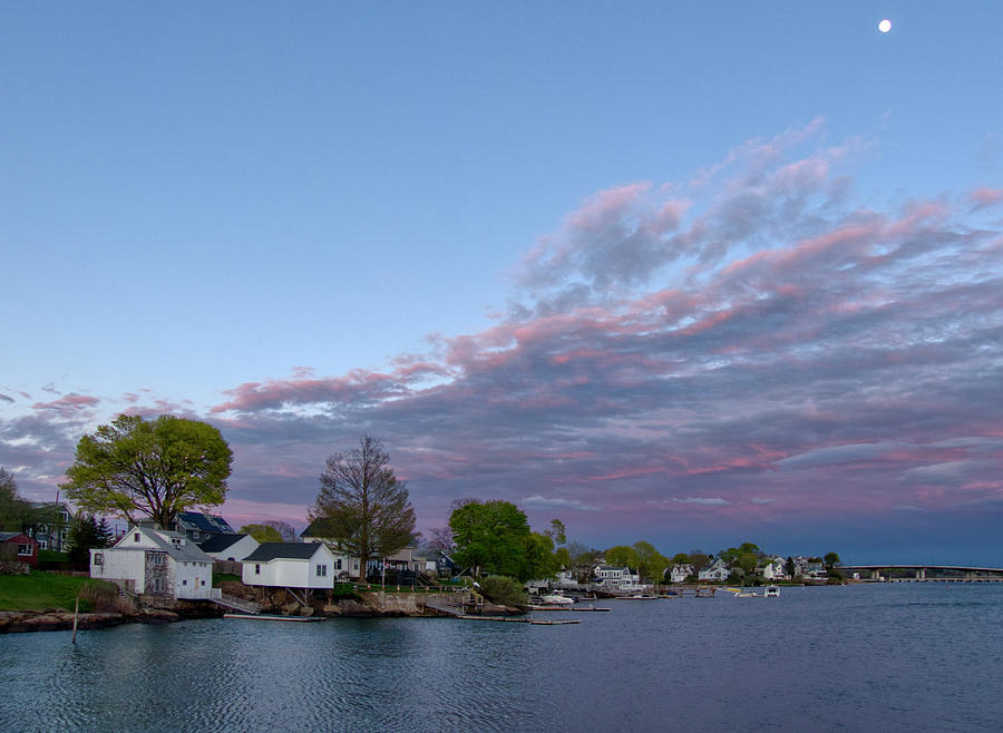 The Danvers River At Sunset Photograph