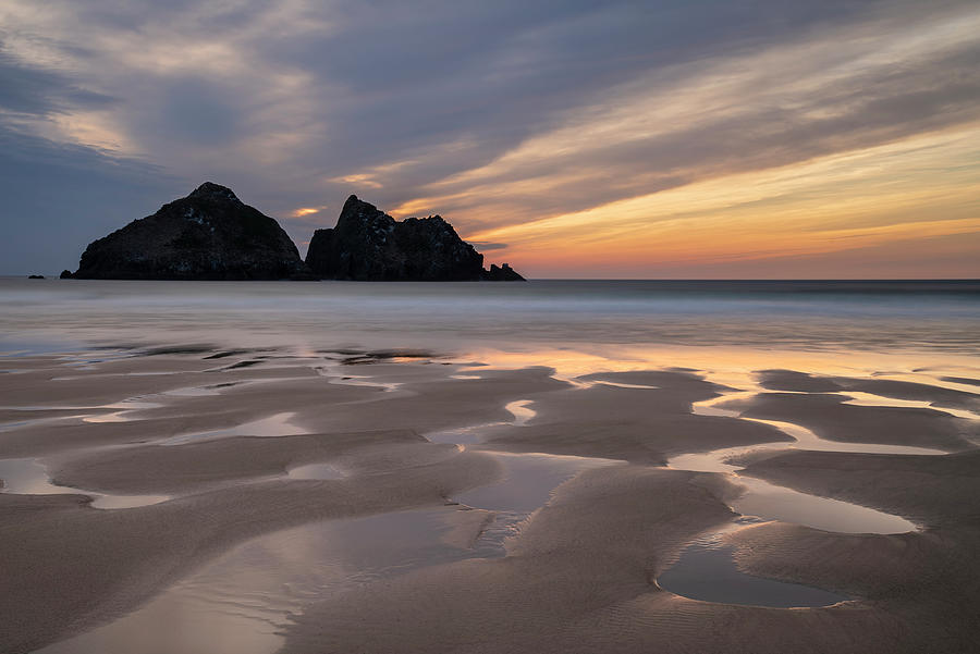 Absolutely Stunning Landscape Images Of Holywell Bay Beach In Co Photograph