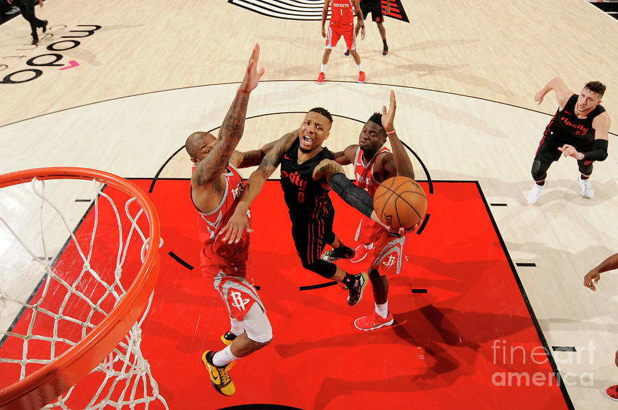 Damian Lillard Photograph by Cameron Browne