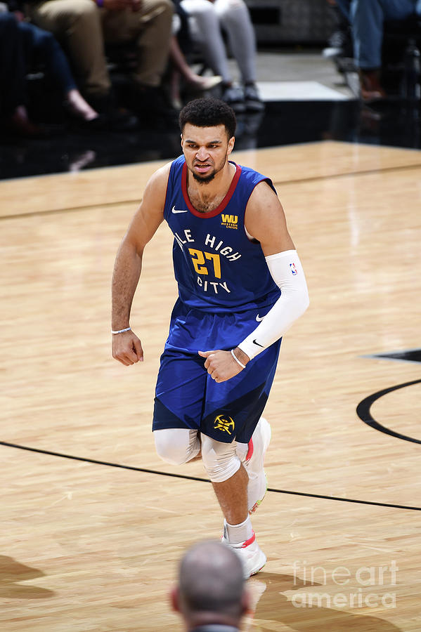Jamal Murray Photograph by Garrett Ellwood