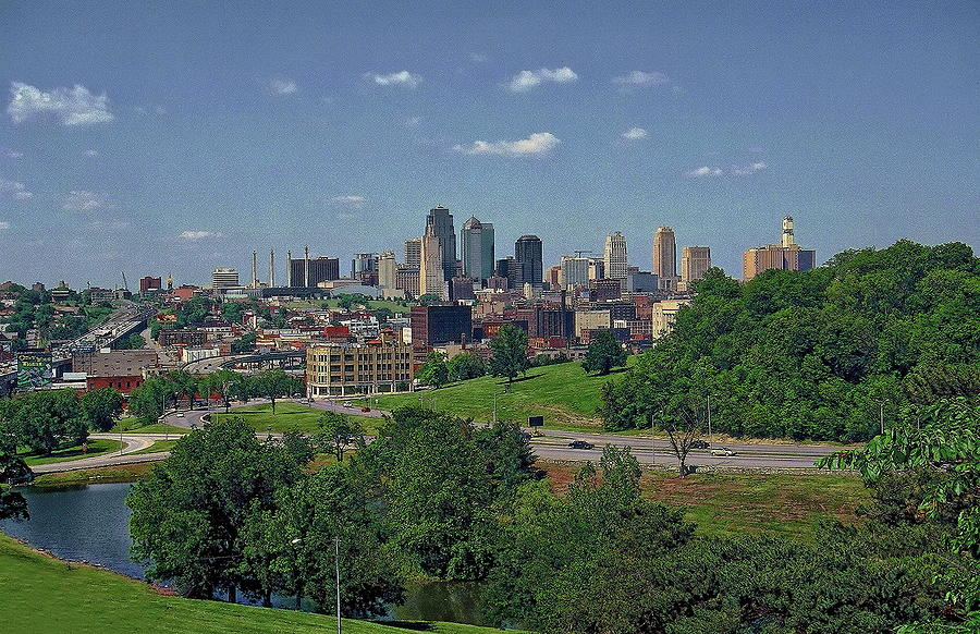 Kansas City Skyline Photograph