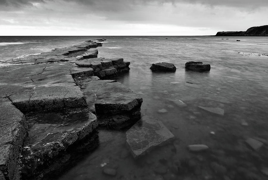 Kimmeridge bay in Dorset by Ian Middleton
