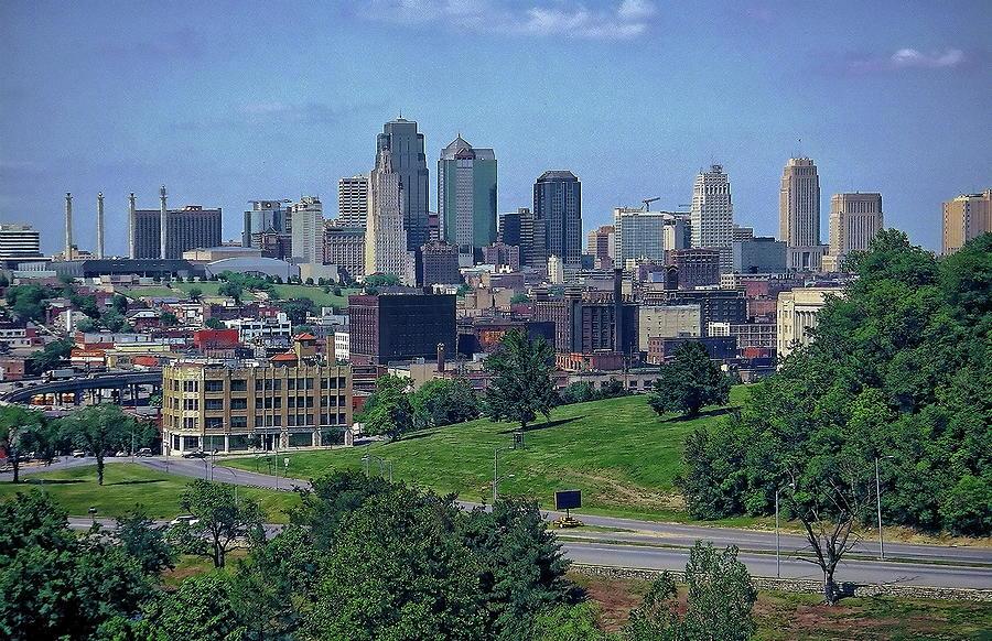 Kansas City Skyline Photograph