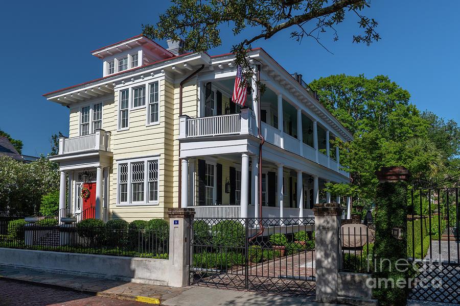Charleston Grand Lady - Historic Downtown Photograph