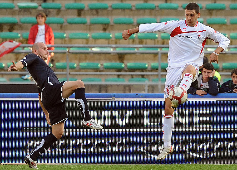 AS Bari v SS Lazio - Serie A Photograph by Giuseppe Bellini
