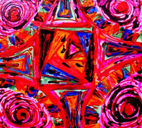 Divine Tangles Painting