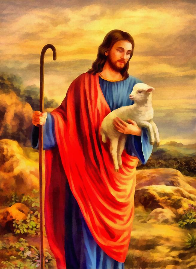 Jesus Christ Digital Art - Jesus Christ by John Huizenga