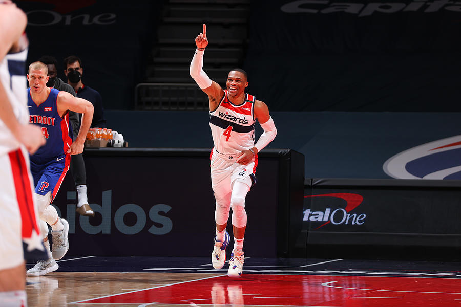 Russell Westbrook Photograph by Ned Dishman