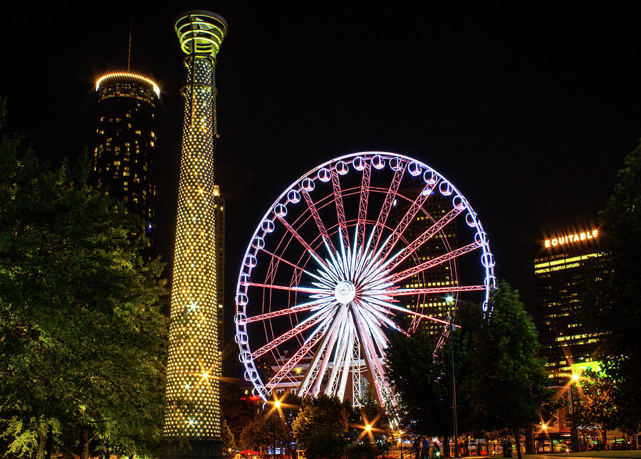 Skyview Ferris Wheel Photograph