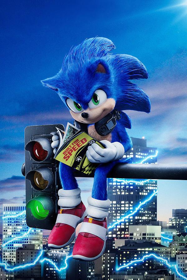 Sonic The Hedgehog 2020 Digital Art By Geek N Rock
