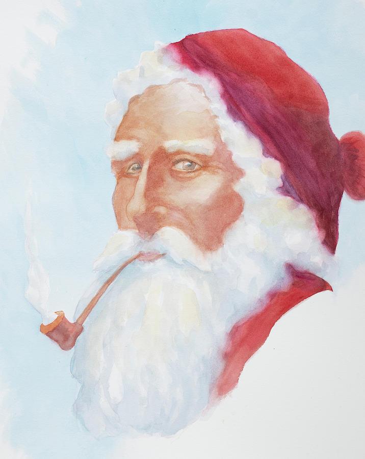 1860 Santa Claus by George Harth