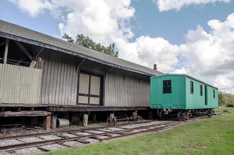 1885 Brooksville Train Depot/museum Photograph