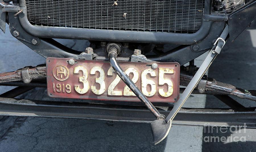 1919 Ford Model T Crank 8270 Photograph