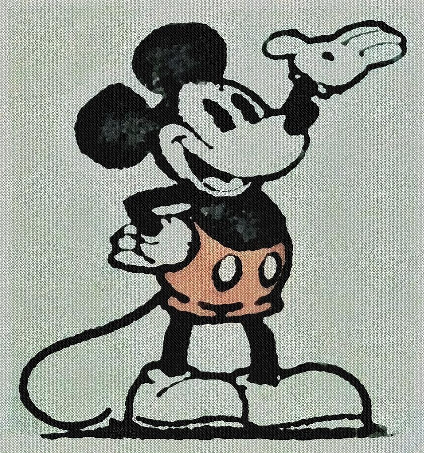 1923 MICKEY MOUSE MOSAIC by Rob Hans
