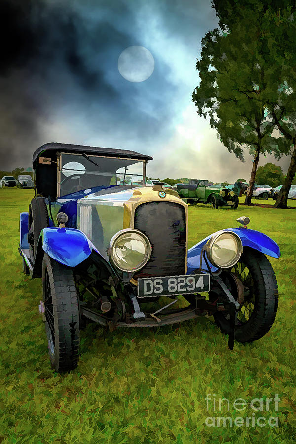 Vauxhall Tourer Car 1924 by Adrian Evans