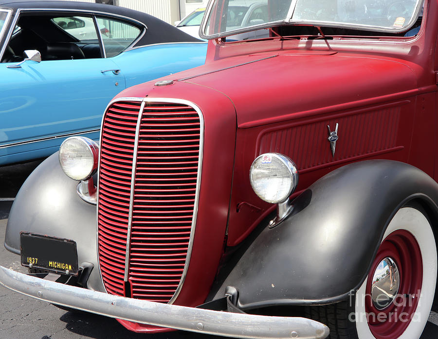 1937 Ford Pickup 8310 Photograph
