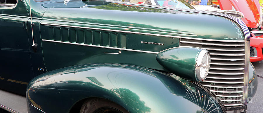 1938 Pontiac Hood And Grille 8361 Photograph