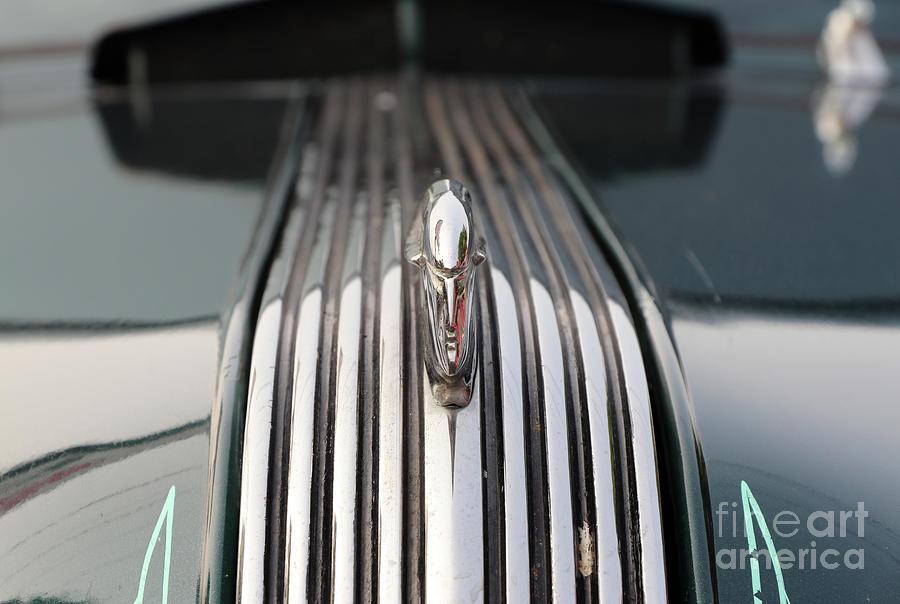 1938 Pontiac Hood Ornament 8365 Photograph