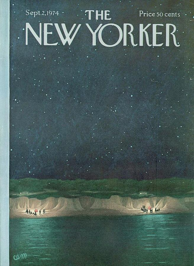 The New Yorker Magazine Cover Digital Art by Brahaman Dhumsi