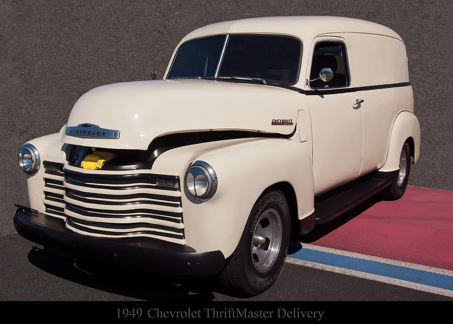 1949 Chevy ThriftMaster Delivery by Chris Flees