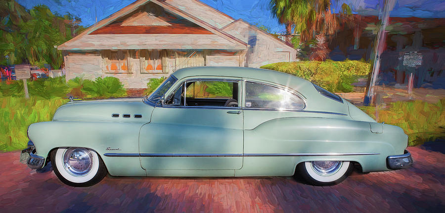 1950 Buick Super Jetback Sedanet - Model 56S X102 by Rich Franco