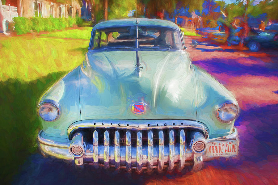 1950 Buick Super Jetback Sedanet - Model 56S X104 by Rich Franco