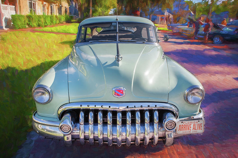1950 Buick Super Jetback Sedanet - Model 56S X106 by Rich Franco
