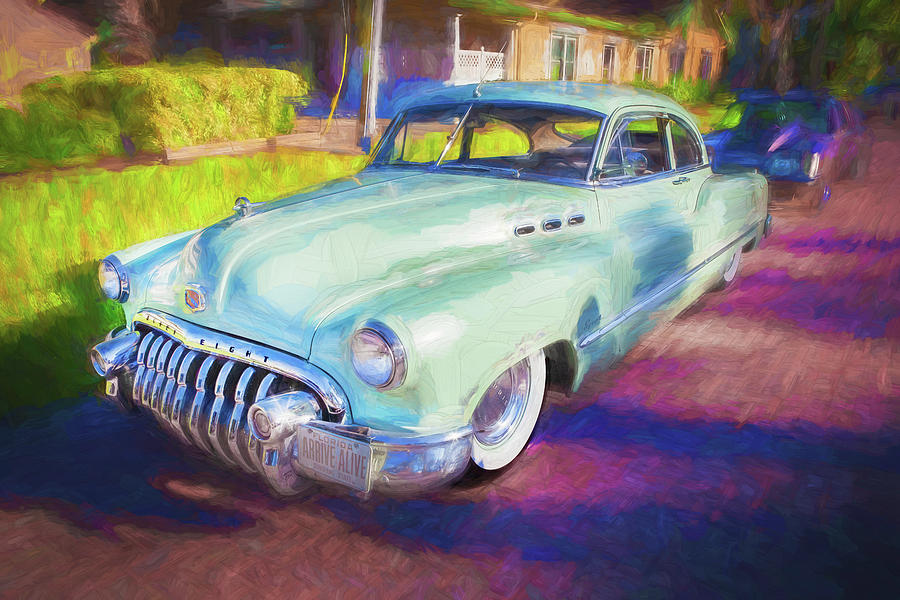 1950 Buick Super Jetback Sedanet - Model 56S X108 by Rich Franco