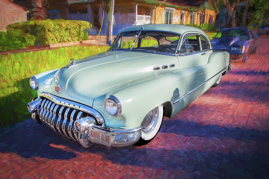 1950 Buick Super Jetback Sedanet - Model 56S X109 by Rich Franco