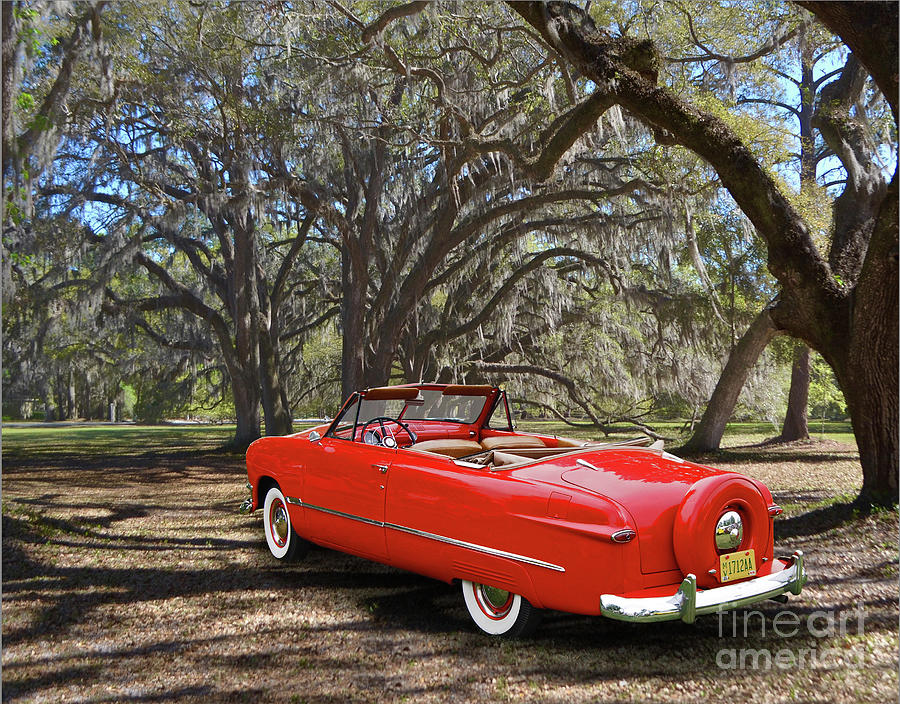 1950 Ford Custom Deluxe Convertible Photograph