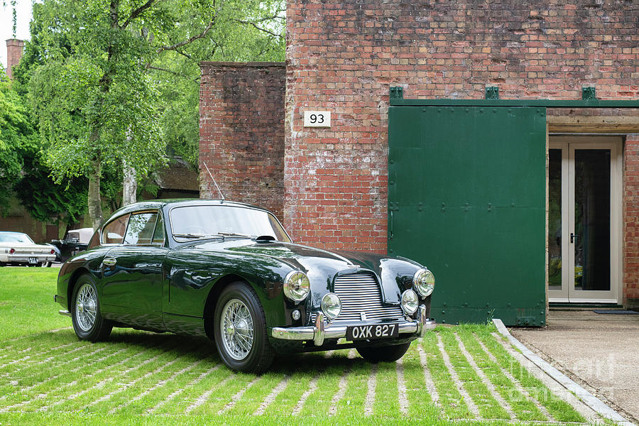 1954 Aston Martin DB2 by Tim Gainey