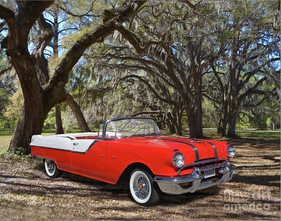 1955 Pontiac Star Chief Convertible Photograph