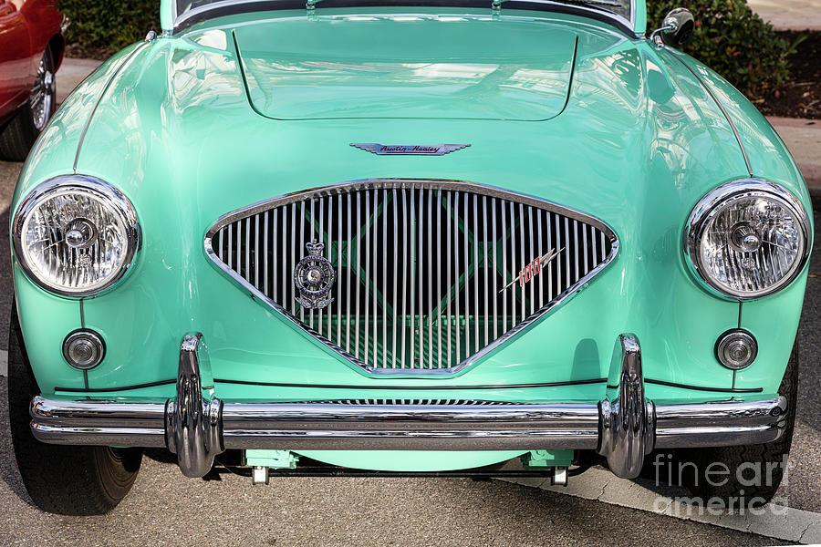 1956 Austin Healey Front Grill Photograph