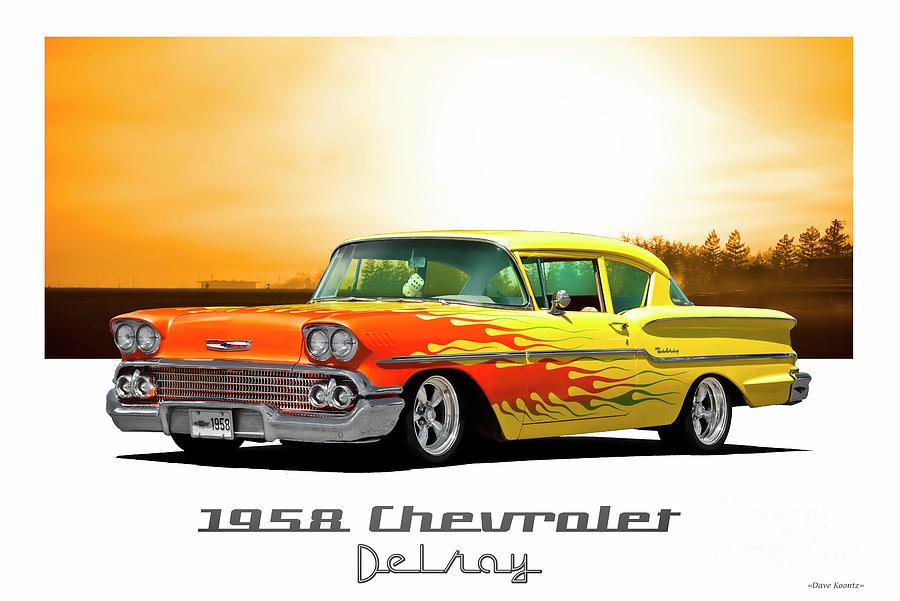 1958 Chevrolet Custom Delray Photograph