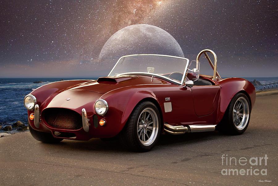 Replica Photograph - 1965 Cobra 427 Replicar by Dave Koontz