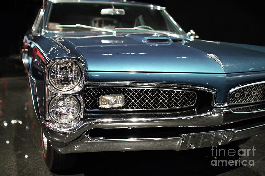 Wingsdomain Photograph - 1966 Pontiac GTO by Wingsdomain Art and Photography